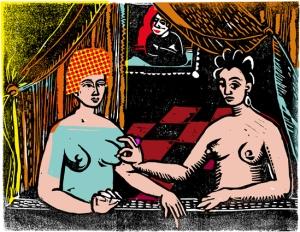 Gaby Color 2, 29x39,tirage digigraphique limité à 10 ex.
